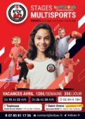 Affiche stages vacances avril 2021 KidZ'Ac Toulouse Saint-Orens