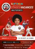 Affiche stages vacances Toussaint 2021 KidZ'Ac Toulouse
